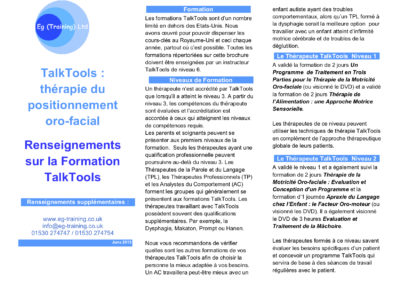 formation talktools