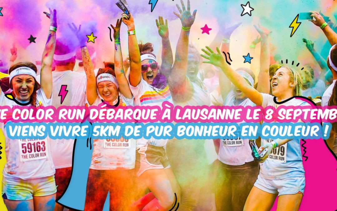 The Color Run Lausanne 2019
